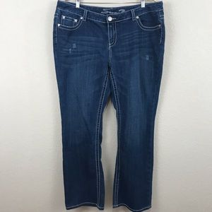 Seven7 Luxe Bootcut Plus Jeans 20 x 32